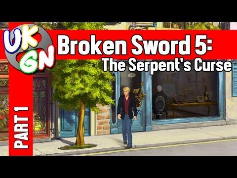 Broken Sword 5: The Serpent's Curse - 100% Walkthrough - Pt1