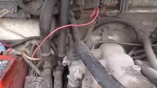 видео Как выгнать воздух из системы охлаждения двигателя
