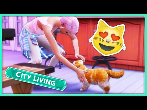 WILL THIS BE HER NEW KITTY!?😻 // The Sims 4 | City Living : Season 2 #11