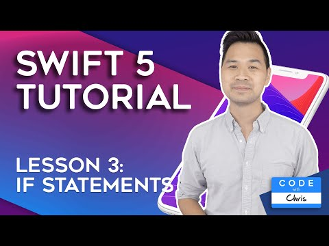 (2019) Swift Tutorial for Beginners: Lesson 3 IF Statements thumbnail