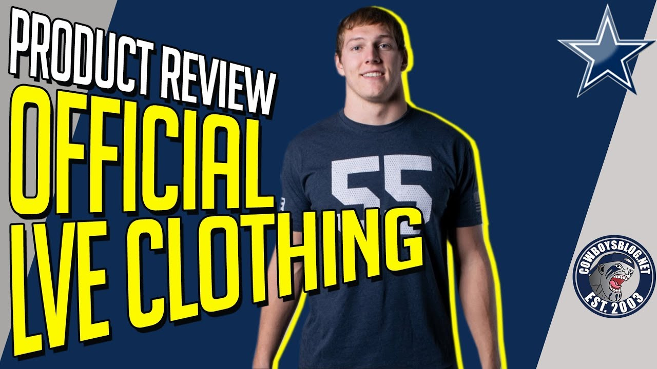 650f9ac9069 Leighton Vander Esch Clothing Line Product Review | Official LVE ...