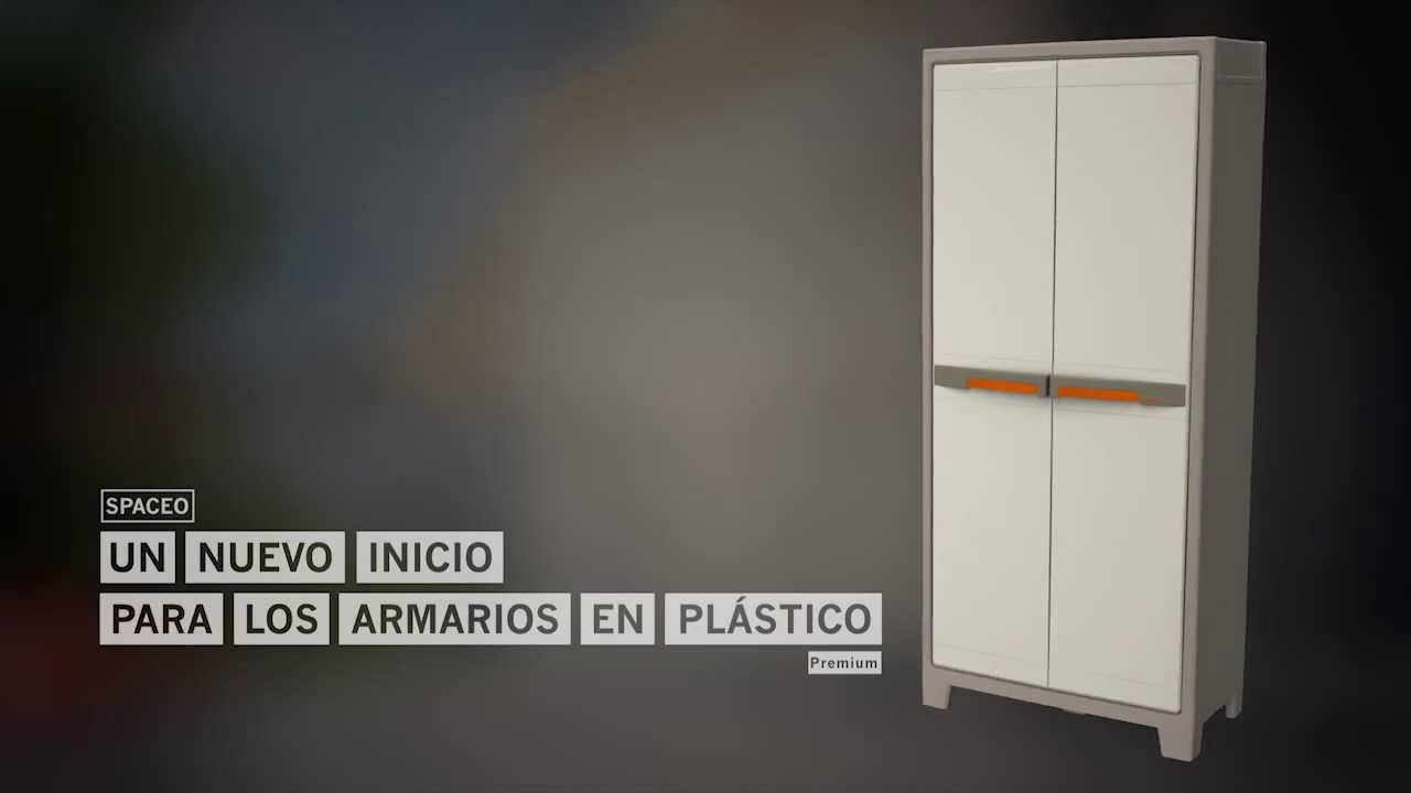 Conoce La Nueva Serie De Armarios De Plástico Spaceo Youtube