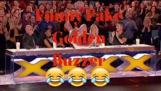 America's Got Talent 2019 Fake Funny Golden Buzzer Audition