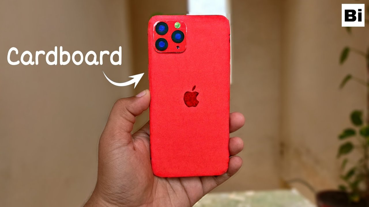 Diy Apple iPhone 11 Pro Max From Cardboard
