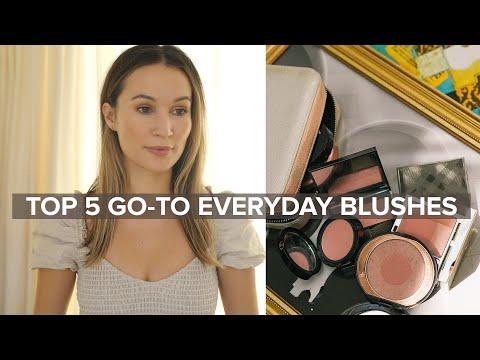 Top 5 Favorite Everyday Blushes | ttsandra thumbnail