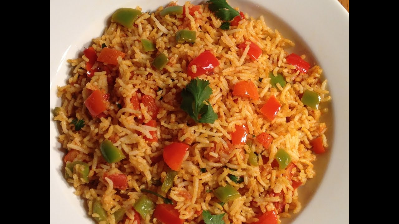 Quick and easy tomato capsicum rice or tawa pulao without onion and quick and easy tomato capsicum rice or tawa pulao without onion and garlic recipe forumfinder Images