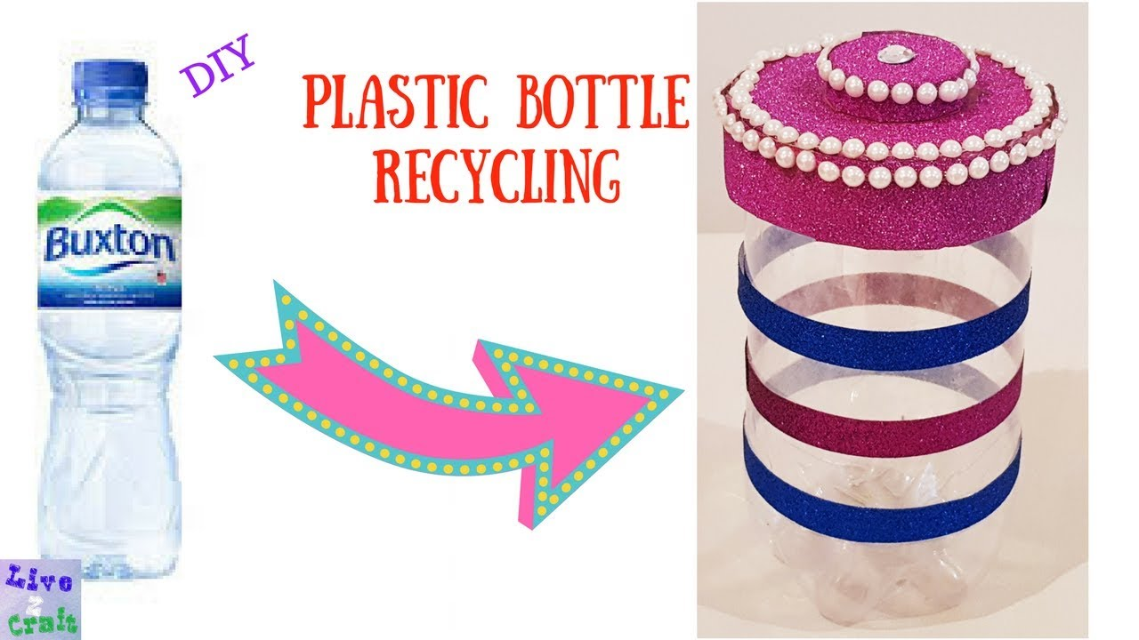 DIY EASY PLASTIC BOTTLE STORAGE CONTAINER BEST OUT OF WASTE