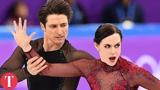 This Figure Skating Move Was TOO HOT For The Olympics | Talko News