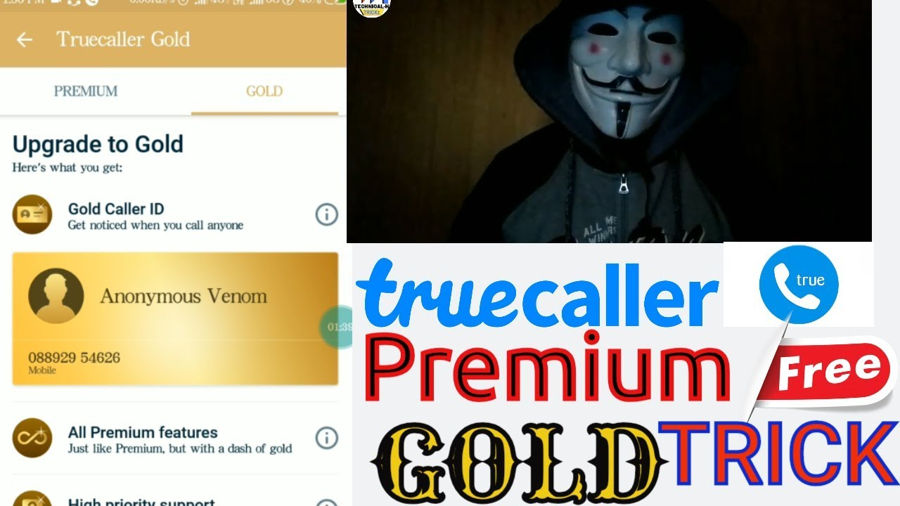 TRUECALLER PREMIUM AND GOLD LATEST TRICK✅