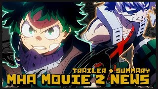 My Hero Academia The Movie 2: Heroes Rising Trailer React, Plot Summary & Details w/ Vocal Pineapple