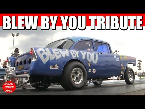 2013 Gasser Reunion Last Pass Blew By You Tri Five Chevy Straight Axle AA/Gasser Drag Racing
