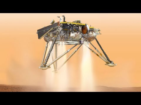 InSight Mars lander touches down on the Red Planet