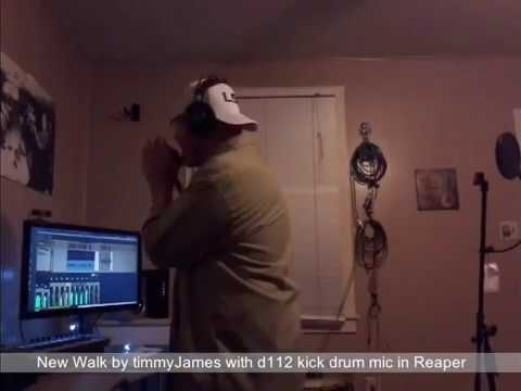 """Vocal effect """"Telephone""""with kick drum mic By timmyJames"""