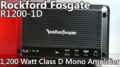 Rockford Fosgate R1200-1D 1,200 Watt Car Amplifier - REVIEW