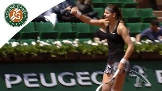 L. Safarova v. A. Ivanovic 2014 French Open Women