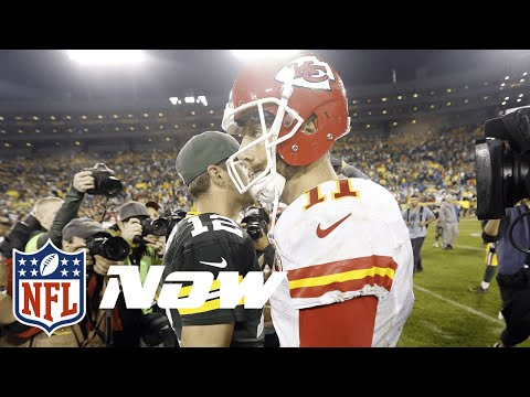 Chiefs vs. Packers Highlights in 60 Seconds | Aaron Rodgers vs. Alex Smith | NFL Now