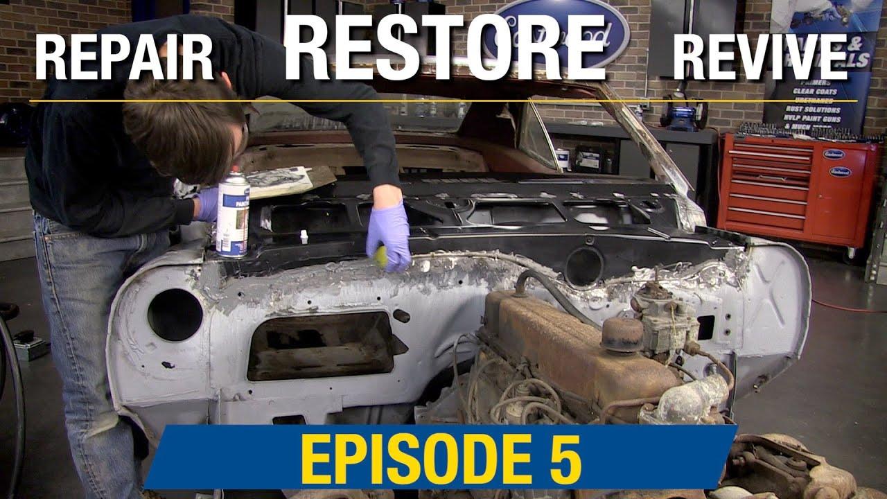 Repair Restore Revive: Ep 5 How To Repair Rusted Camaro Cowl & Dash -  Eastwood