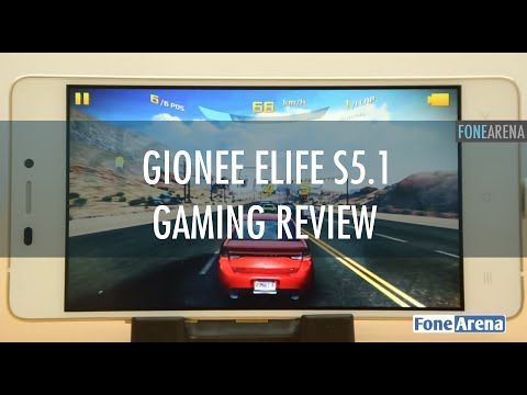 Gionee Elife S5.1 Gaming Review