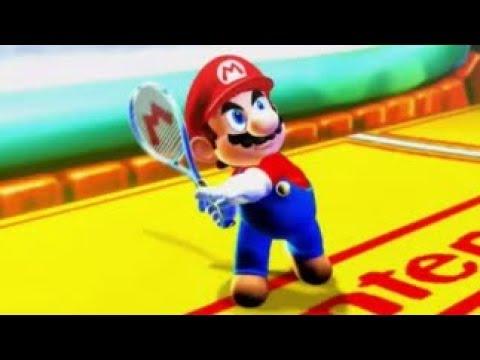 Mario Power Tennis (Wii) - Star Tournament - Rainbow Cup (Singles)