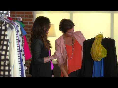 Adding Color to Your Look with Tiffani Thiessen - All Access Mom ...