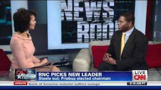 Dr. Jason Johnson on CNN Republican Chairman Election 01/15/11