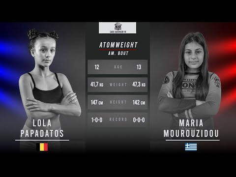 Cage Survivor 14: Young Lion - Lola Papadatos vs. Maria Mourouzidou