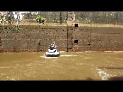 Transiting Lock #1, Cape Fear River