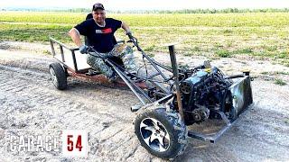 Мотоблок на 80 л.с. с двигателем от АВТО