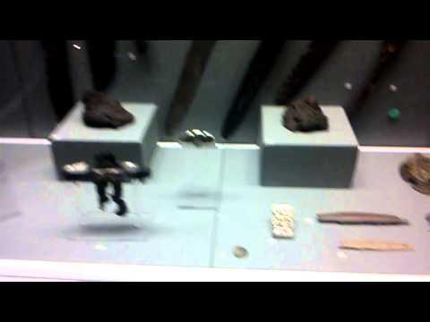 Dublin museum More Celtic swords