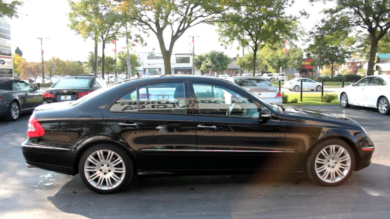 2007 mercedes benz e550 village luxury cars markham for 2007 mercedes benz e550