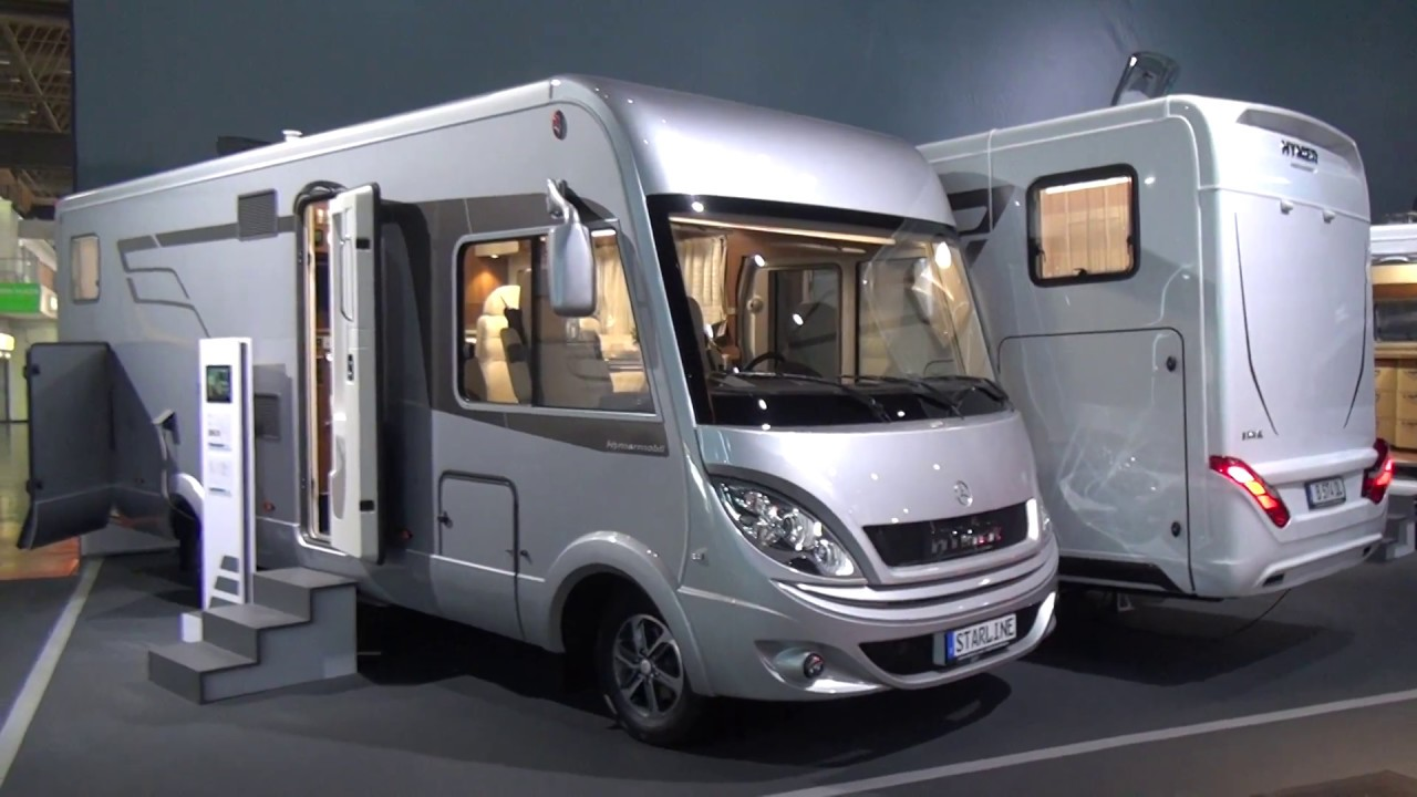 hymer starline 680 motorhome review youtube. Black Bedroom Furniture Sets. Home Design Ideas