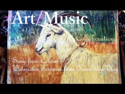 Art – Music Collaboration – Painting Reveil