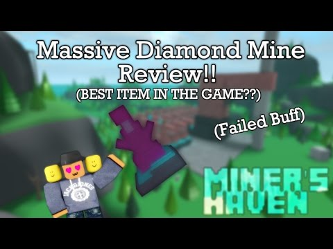 Miners Haven: Massive Diamond Mine review (BEST ITEM IN THE GAME?) (Failed buff)