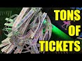NOTHING BUT JACKPOTS at Dave & Buster's Arcade! | Tons of Tickets #5 | TeamCC