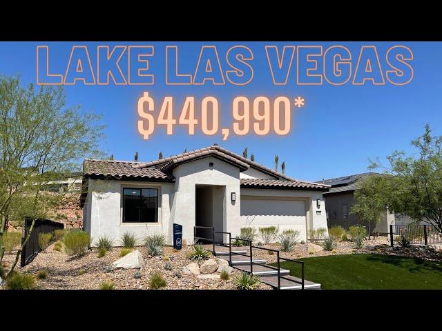 New Homes For Sale Lake Las Vegas | Del Webb 55+ Pulte Homes Brownstone Home Tour $440k+ 1,579sf