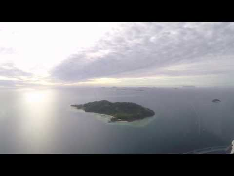 GoPro Helicopter Flightseeing Fiji  !
