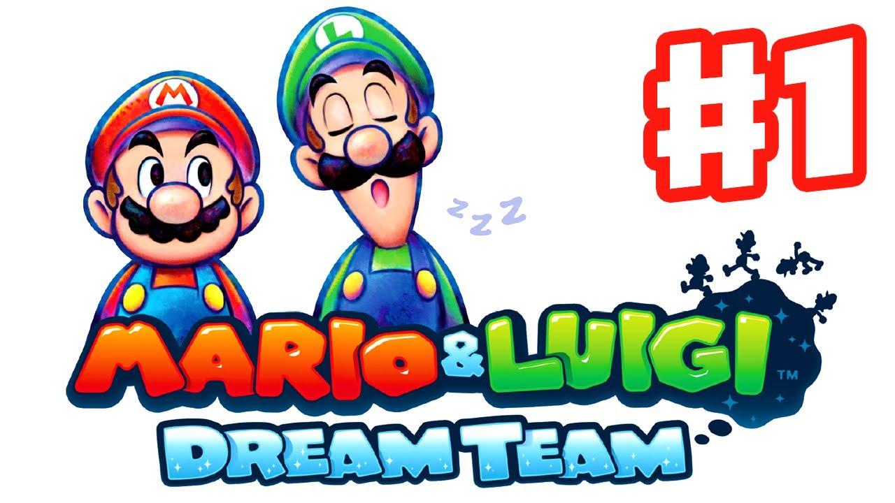 Mario Luigi Dream Team Gameplay Walkthrough Part 1 Pi Illo