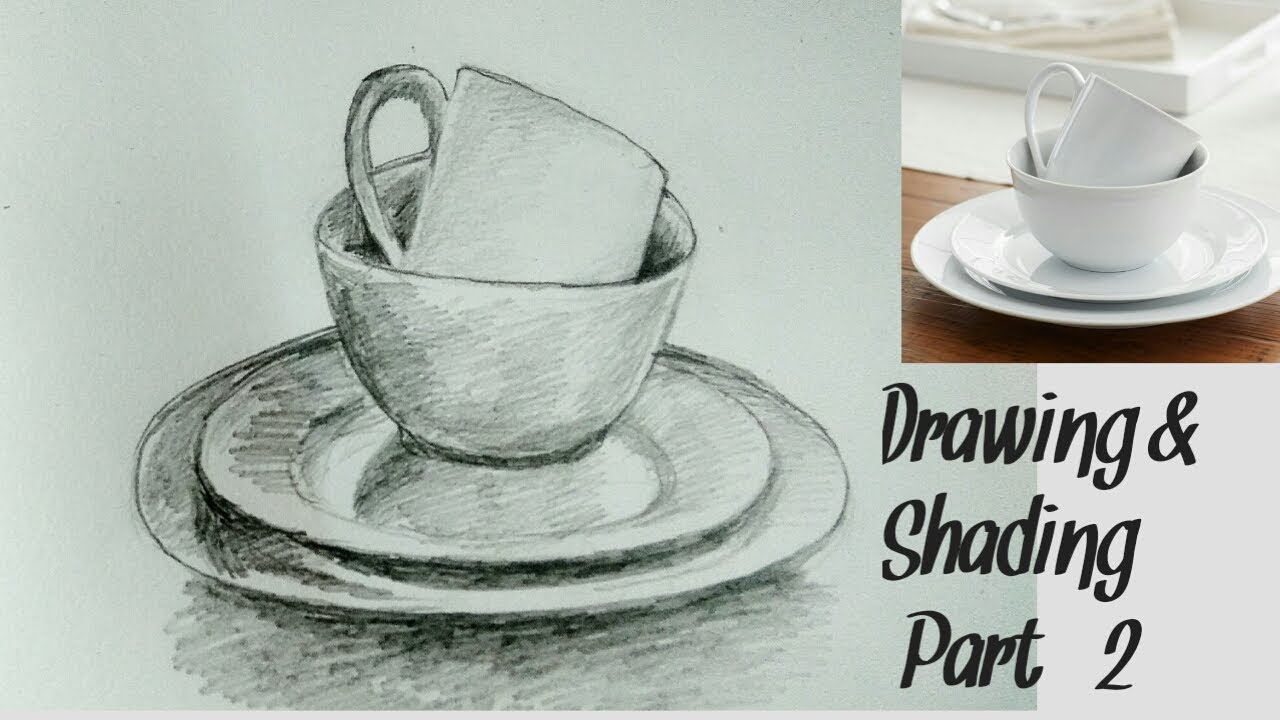 Object Drawing Pencil Shading Easy