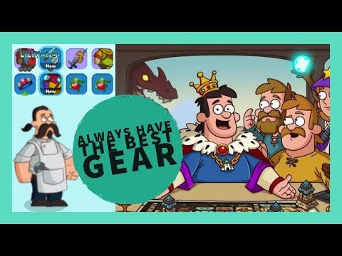 How To Make Sure You Have The BEST Gear! Hustle Castle