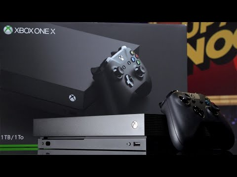 Xbox One X Retail Edition Unboxing