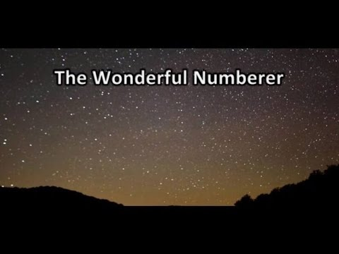 The Wonderful Numberer - God: The Greatest Mathematician!