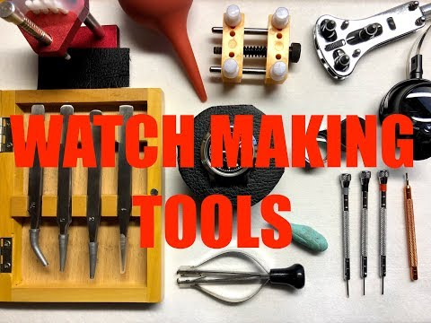 TOOLS TO START WATCH MAKING + MODIFYING - Beginner Watch Tools