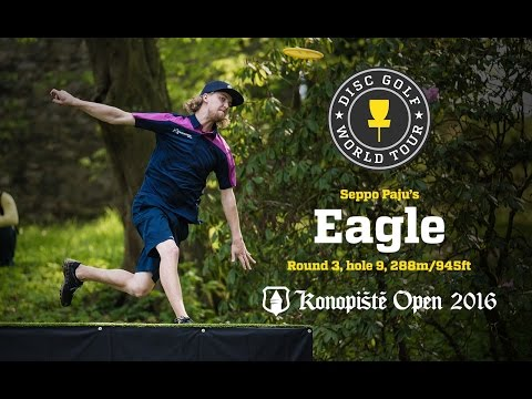 Seppo Paju's Eagle @ Konopiste Open 2016, Final Round