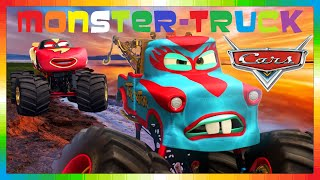 CARS ITALIANO - MONSTER CARL ATTREZZI CRICCHETTO TRUCK - Bambini Film Saetta McQueen - Monstertrucks