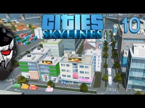 Cities: Skylines - Expanding Everything - E10   Docm77
