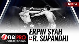 [HD] Erpin Syah vs Rama Supandhi - One Pride Pro Never Quit #17