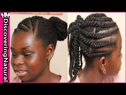 Natural Hairstyles for Teen Girls | Products with no Shea Butter