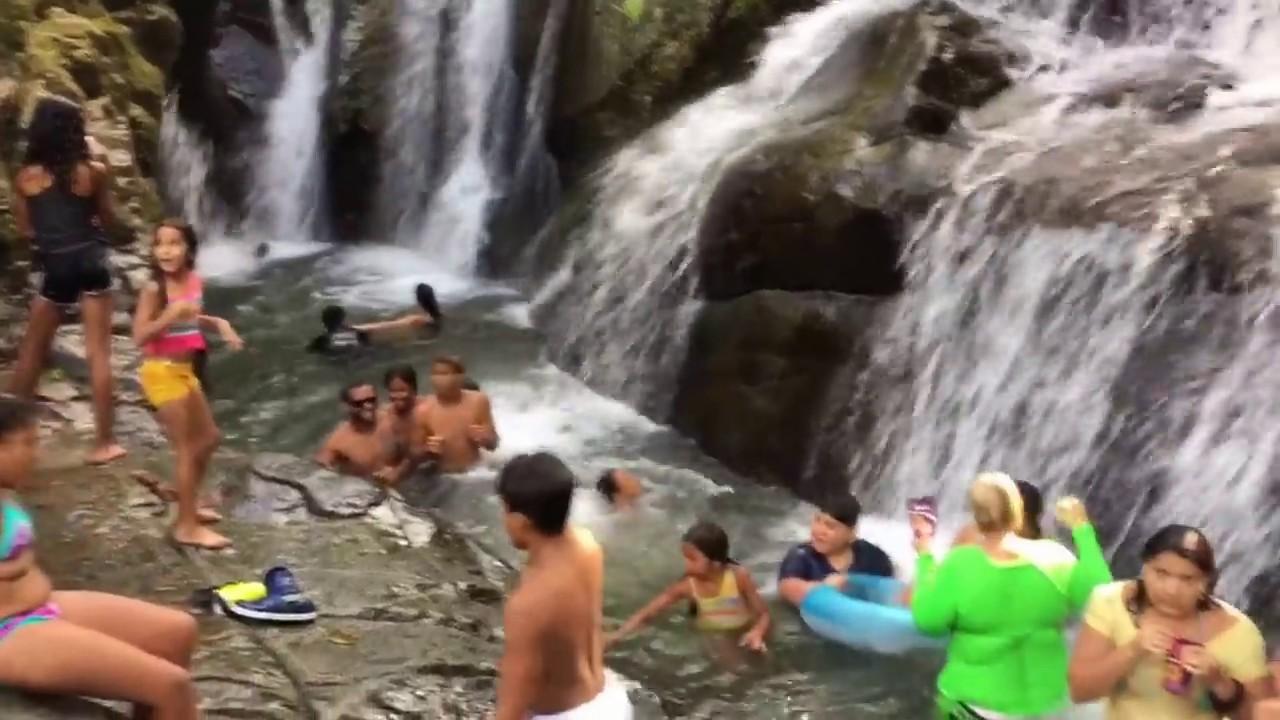 Los 7 Chorros En San Lorenzo Pr Youtube
