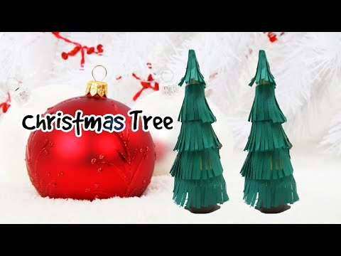 How to make a christmas tree | Christmas Decorations | DIY Paper craft videos