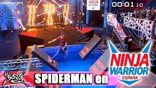 SPIDERMAN en NINJA WARRIOR ESPAÑA